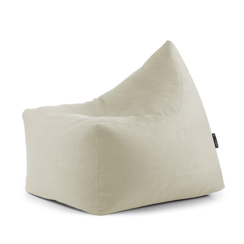Fajny fotel pufa dla spędzających wieczory przed telewizorem